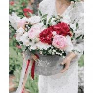 Картина по номерам BrushMe 40*50см Цветы в подарок (GX37516)