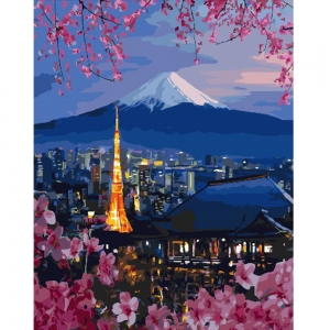 Картина по номерам BrushMe 40*50см Путешествие по Японии (GX26047)