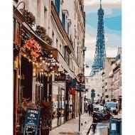 Картина по номерам BrushMe 40*50см Париж из-за угла (GX30083)