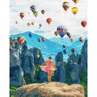 Картина по номерам BrushMe 40*50см Воздушные мечты (GX34846)