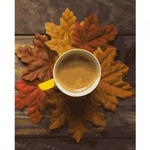 Картина по номерам BrushMe 40*50см Осеннее какао (GX37600)
