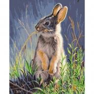 Картина по номерам BrushMe 40*50см Лесной заяц (GX36013)