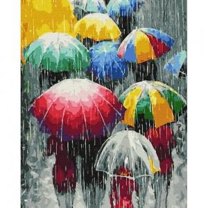 Картина по номерам BrushMe 40*50см Дождевые краски (GX36511)