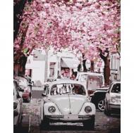 Картина по номерам Идейка 40х50см Volkswagen Beetle (КНО3521)