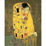 Картина по номерам Идейка 40х50см Поцелуй 2 Густав Климт (КНО4534)