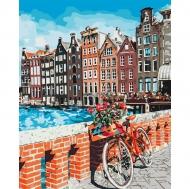 "Картина по номерам Идейка 40х50см ""Каникули в Амстердаме"""