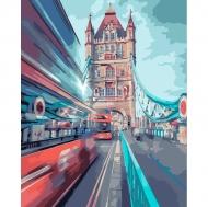 Картина по номерам Идейка 40х50см Динамичный Лондон (КНО3570)