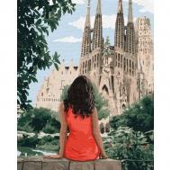 Картина по номерам Идейка 40х50см Путешествуя Барселоной (КНО4746)