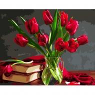 Картина по номерам BrushMe 40*50см Букет тюльпанов (GX8115)