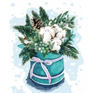 Картина по номерам Идейка 40х50см Краски зимы 2 (КНО3029)