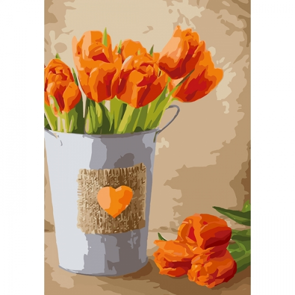 Картина по номерам Идейка 35х50см Праздник любви (КНО2940)