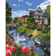 Картина по номерам Идейка 40*50см Чарующий пейзаж (КНО2290)
