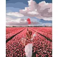 Картина по номерам Идейка 40х50см Розовая мечта (КНО4603)
