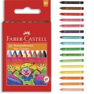 Мел Faber-Castell восковый 16 цветов 75 мм
