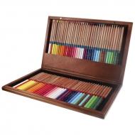 Карандаши цветные Marco FineArt кедр в деревянном кейсе 72 цвета