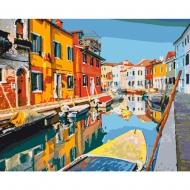 Набор картина по номерам SANTI 40*50 Красочный город (953839)