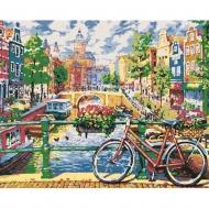 Набор картина по номерам SANTI 40*50 Амстердам завораживающий (953817)