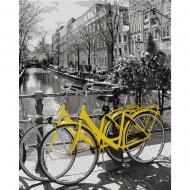 Набор картина по номерам SANTI 40*50 Прогулка на велосипеде (953838)