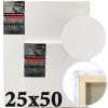 Холст на подрамнике Monet итальянский хлопок среднее зерно 25*50 см (MN2550)