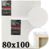 Холст на подрамнике Monet итальянский хлопок среднее зерно 80*100 см (MN80100)