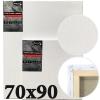 Холст на подрамнике Monet итальянский хлопок среднее зерно 70*90 см (MN7090)