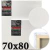 Холст на подрамнике Monet итальянский хлопок среднее зерно 70*80 см (MN7080)