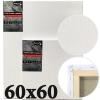 Холст на подрамнике Monet итальянский хлопок среднее зерно 60*60 см (MN6060)