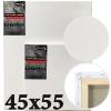 Холст на подрамнике Monet итальянский хлопок среднее зерно 45*55 см (MN4555)