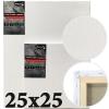 Холст на подрамнике Monet итальянский хлопок среднее зерно 25*25 см (MN2525)