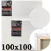 Холст на подрамнике Monet итальянский хлопок среднее зерно 100*100 см (MN100100)