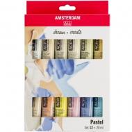 Набор акриловых красок AMSTERDAM PASTELS 12*20 мл тубы