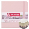 Блокнот для графики Talens Art Creation 140г/м2 12*12см Пастельно-розовый