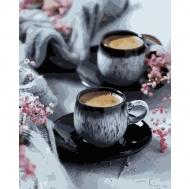 Картина по номерам Идейка 40х50см Кофе на двоих (КНО5548)