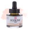 Краска акварельная жидкая Ecoline 374 Розово-бежевая