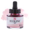 Краска акварельная жидкая Ecoline 381 Красная пастельная