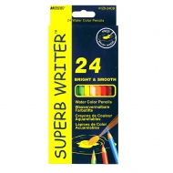 Набор акварельных карандашей Marco Superb Writer 24 цветов (4120-24CB)