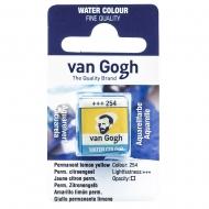 Краска Акварельная Van Gogh (254) Перм. лимонный светлый кювета (20862541)