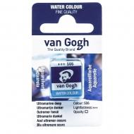 Краска акварельная Van Gogh (506) Ультрамарин темний кювета (20865061)