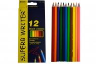 "Карандаши цветные MARCO ""Superb Writer"", 12 цветов"