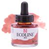 Краска акварельная жидкая Ecoline 411 Сиена жженая