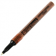 Маркер Pen-Touch Бронза тонкий (FINE) 1мм Sakura
