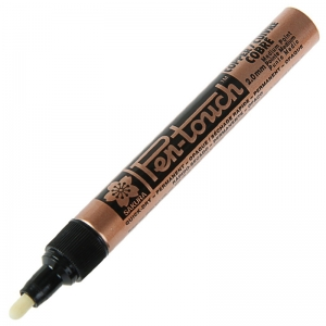 Маркер Pen-Touch Бронза средний (MEDIUM) 2.0мм Sakura