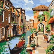 Картина по номерам Идейка 40х40см Венецианский утро (КНО2161)