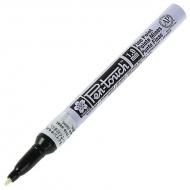 Маркер Pen-Touch Белый тонкий (FINE) 1мм Sakura