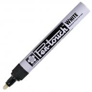 Маркер Pen-Touch Белый средний (MEDIUM) 2.0мм Sakura
