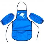 Фартук с нарукавниками для детского творчества Economix голубой