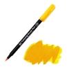 Маркер акварельный Koi кисточка (004) Желтый насыщенный