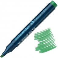 Маркер перманентный SCHNEIDER MAXX 133 1-3 мм зеленый