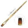 Кисть профессиональная синтетическая Monet 101F плоская №12 (M101F12)