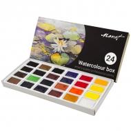 Набор акварельных красок Monet 24 цвета 2,5 мл